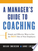 A Manager's Guide to Coaching