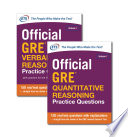 Official GRE Value Combo (ebook bundle)