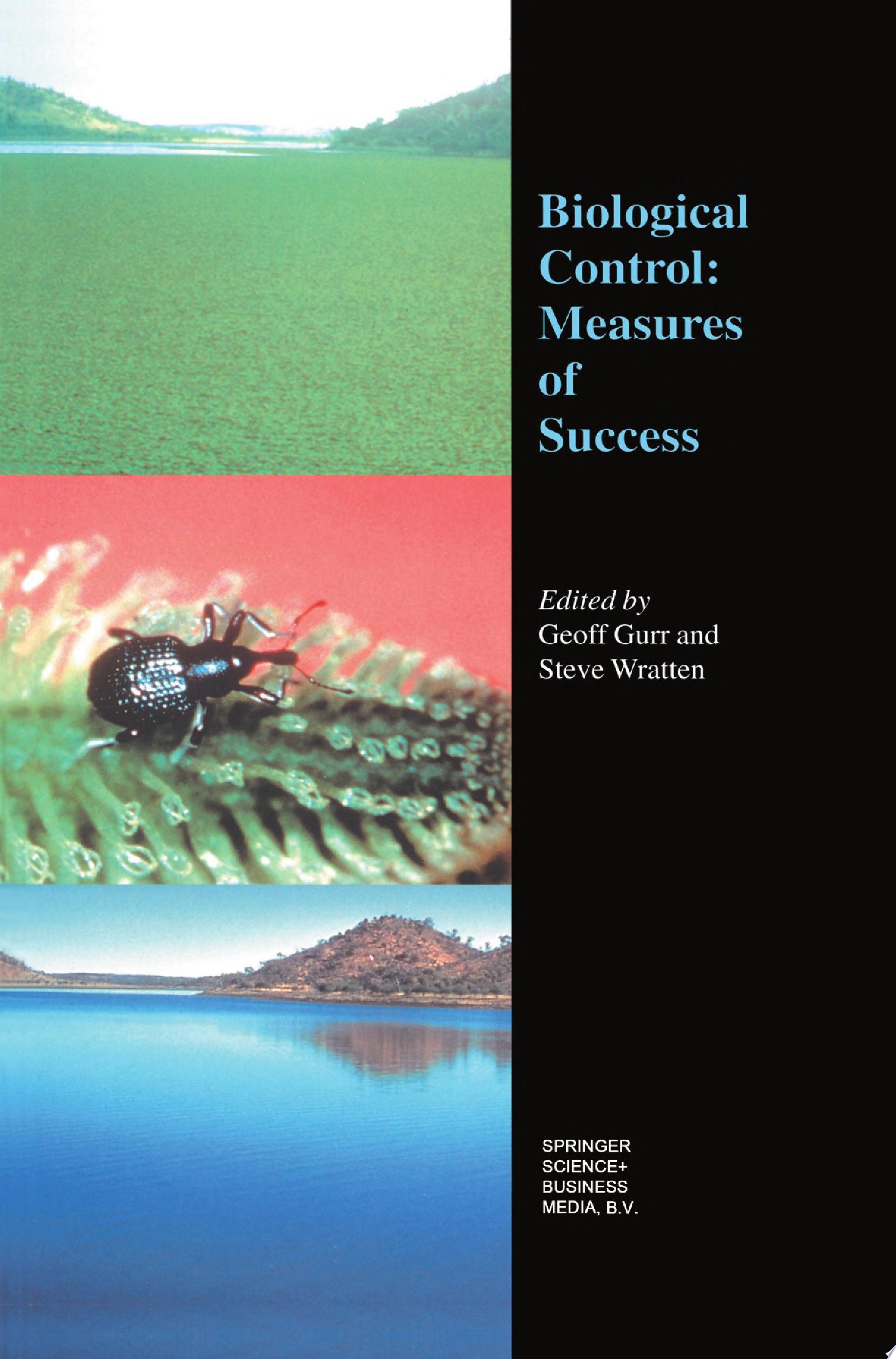 Biological Control  Measures of Success