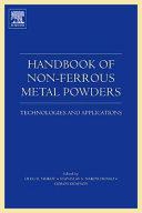Handbook of Non Ferrous Metal Powders Book