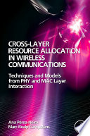Cross Layer Resource Allocation in Wireless Communications