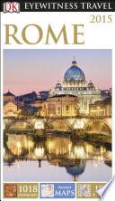 DK Eyewitness Travel Guide Rome Book