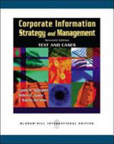 Cover of Corporate Information Strategy and Management