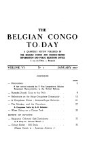 The Belgian Congo To day