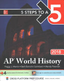 5 Steps to a 5 AP World History 2018 edition Book
