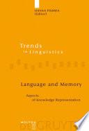 Language and Memory