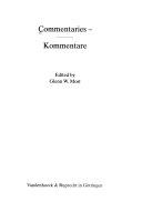 Commentaries - / Kommentare