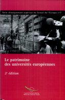 Le patrimoine des universités européennes