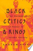 Black Critics and Kings