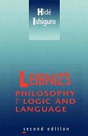 Leibniz's Philosophy of Logic and Language