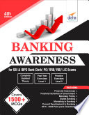 Banking Awareness for SBI   IBPS Bank Clerk  PO  RRB  RBI  LIC exams 4th Edition