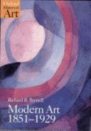 Modern Art  1851 1929