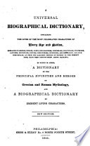 A Universal Biographical Dictionary