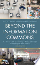 Beyond The Information Commons Book PDF