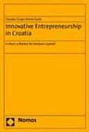 Innovative Entrepreneurship in Croatia