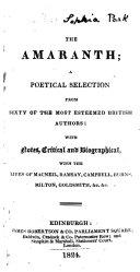 The Amaranth ebook