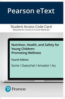 Pearson Etext Nutrition  Health  and Safety for Young Children