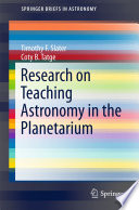 Research on Teaching Astronomy in the Planetarium