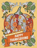 Adult Thanksgiving Coloring Book: Happy Thanksgiving