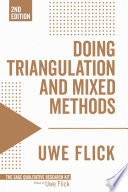 """Doing Triangulation and Mixed Methods"" by Uwe Flick"