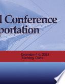 International Conference On Transportation