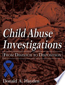 Child Abuse Investigation Book