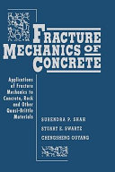 Fracture Mechanics of Concrete