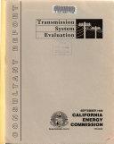Transmission System Evaluation