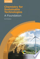 Chemistry for Sustainable Technologies 2nd Edition