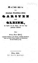 Geschichte der ehemaligen Benediktiner-Klöster Garsten und Gleink, ... und der dazu gehörigen Pfarren