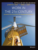 Cover of Work in the 21st Century: an Introduction to Industrial and Organisation Psychology, 6th Australia and New Zealand Edition