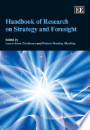 Handbook of Research on Strategy and Foresight Book