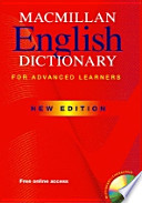 Macmillan English Dictionary for Advanced Learners