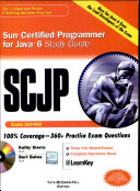 Scjp Sun Cert Pro 4 Java 6
