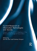 Current Research on Information Technologies and Society