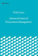 Advanced Issues of Procurement Management