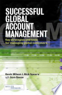 Successful Global Account Management Book