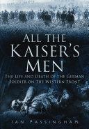 Pdf All the Kaiser's Men Telecharger