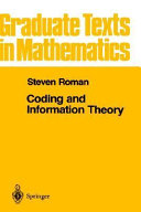 Coding and Information Theory