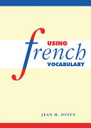 Pdf Using French Vocabulary