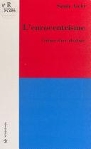 L'eurocentrisme : critique d'une idéologie Pdf/ePub eBook