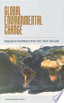 Global Environmental Change Book