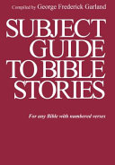 Subject Guide To Bible Stories Book