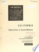 California Separations of Social Workers