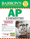 Barron's AP Chemistry