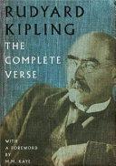 Rudyard Kipling The Complete Verse