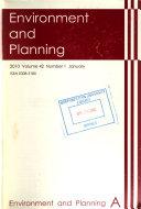 Environment   Planning