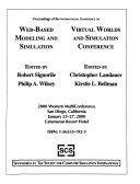 Proceedings of the International Conference on Web based Modeling and Simulation