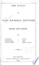 The Works of Mary Russell Mitford