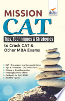 Mission Cat Tips Techniques Strategies To Crack Cat Other Mba Exams